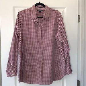 Lands End Women's Tailored Blouse